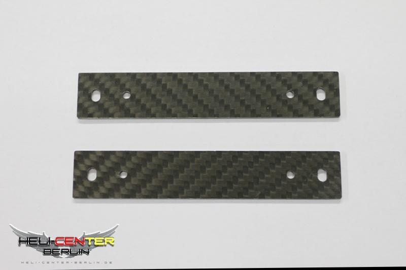 Cfk Platten für Mechanikbefestigung Hughes 500/Logo 600