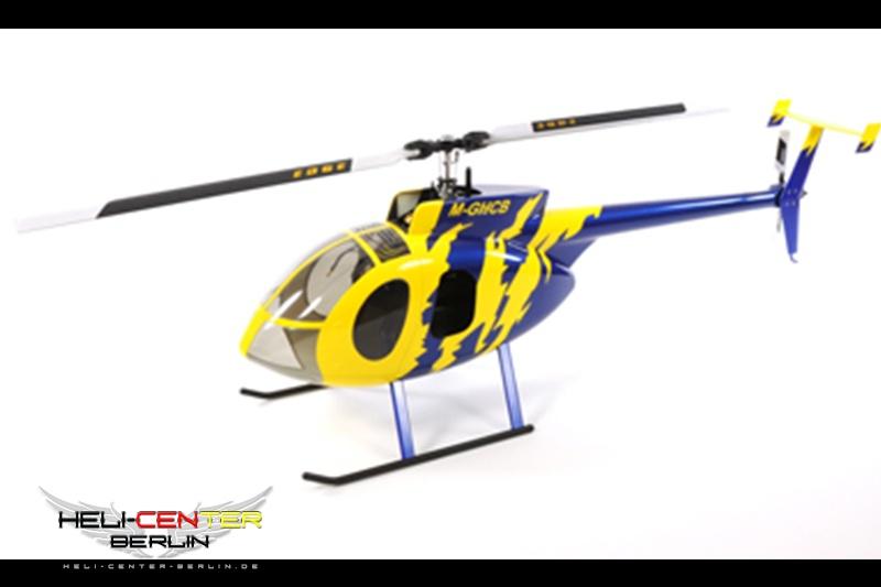 Hughes 500 E gelb/blau