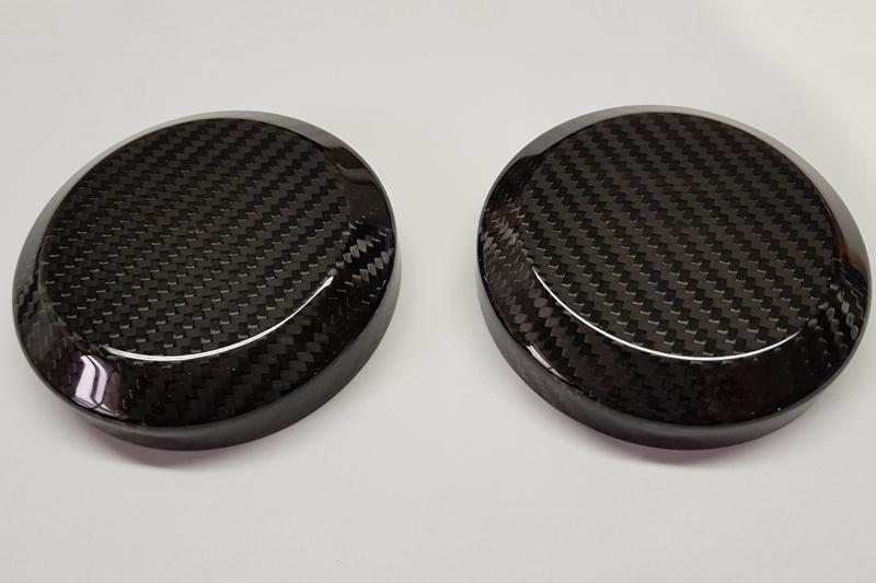 Abdeckkappe Carbon für Stoßdämpfer Camaro 10-15