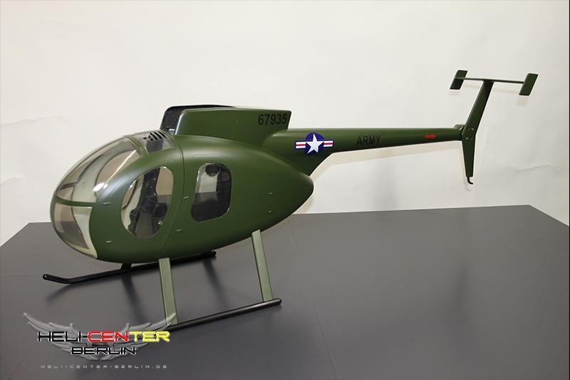 Fuselage Hughes 500 D ARMY