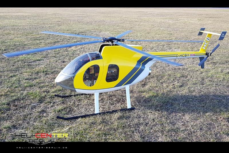 Hughes 500 E für PHT3 (V1)