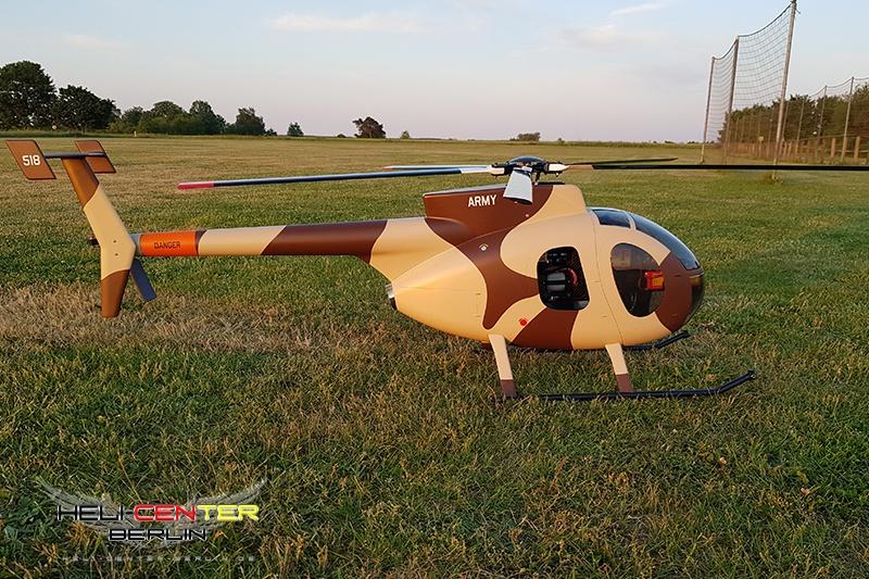 Hughes 500 D  ARMY  mit JetCat PHT2