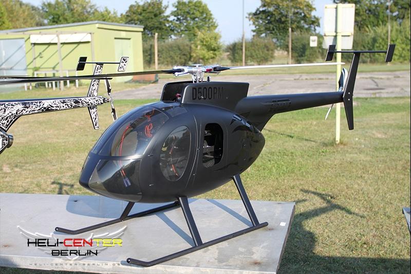Hughes 500 E für T-Rex 700 L / X