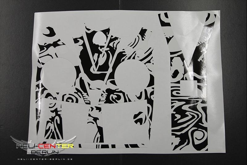 Decal Set Vbar Control black&white