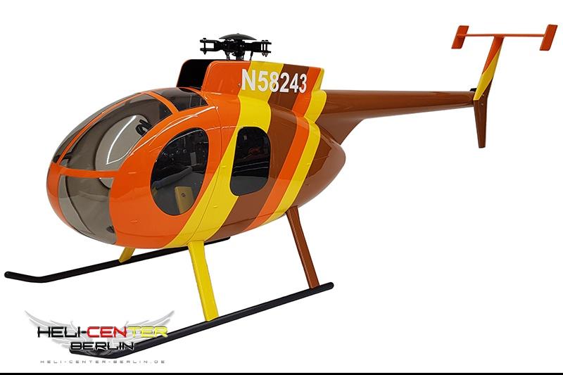 Hughes 500 D inkl. Einbaumechanik Genesis HCB-Edition