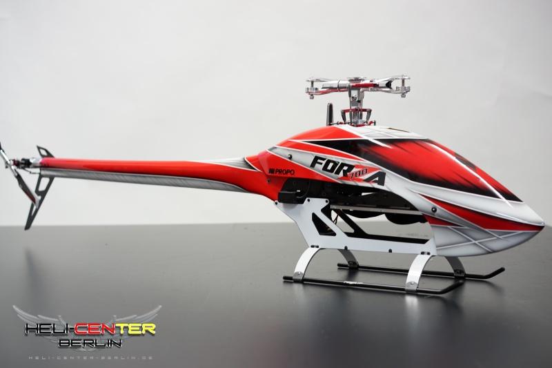 Aufkleber weiß für untere Chassis-Seitenteile JR Forza 700