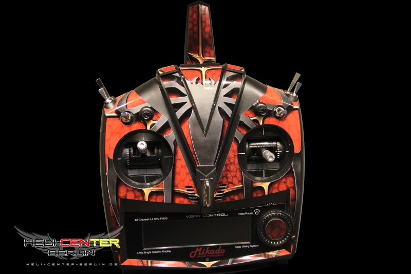 Decal Set VBar Control Spider red