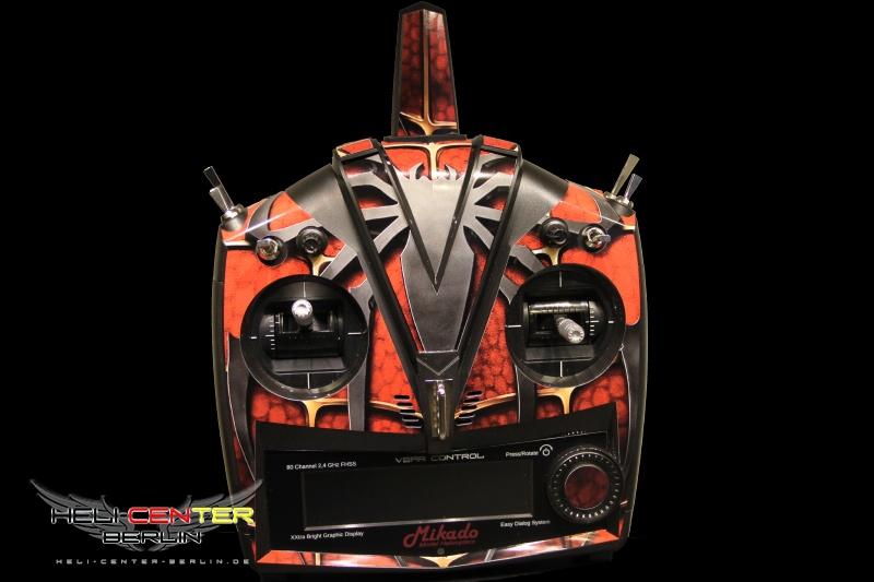 Dekorsatz VBar Control Spider rot