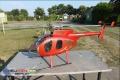 Hughes 500 E rot metallic / gold für JR Forza 700