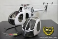 Hughes 500 E/D Limited Edition Rumpf für T-Rex 700L