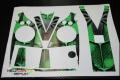 Decal Set VBar Control Spider green